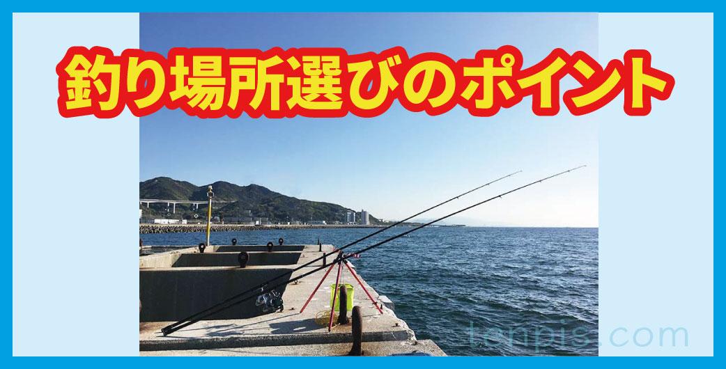 釣り場所選びのポイント画像